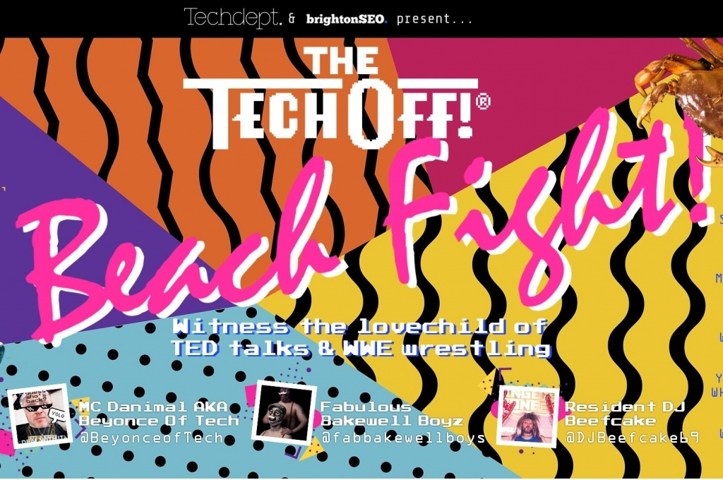BrightonSEO presents The Tech Off: Beach Fight!