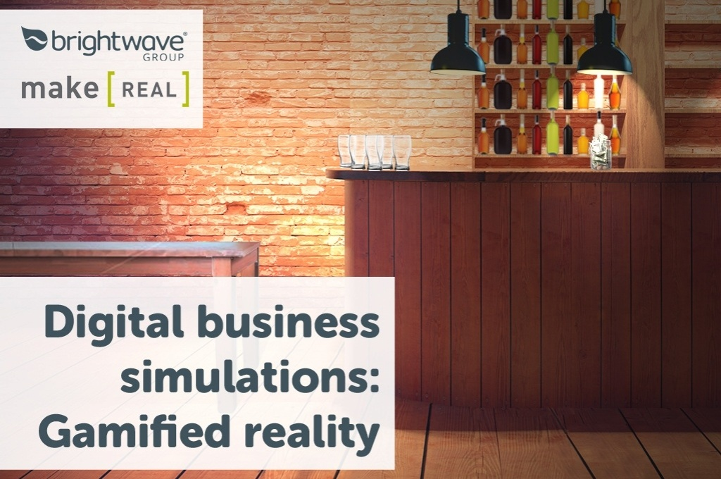 Digital business simulations: Gamified reality